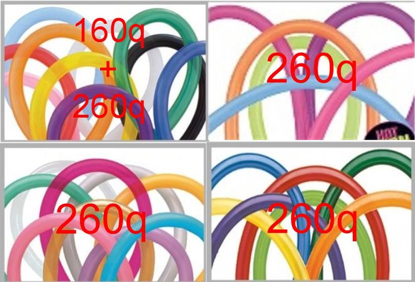 Qualatex 260q en 160q Combi Pakket (M0806)