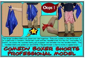 Comedy Boxer Shorts (2833L2)