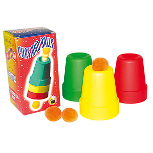 Cups & Balls Colored Plastic by VDG (4501)