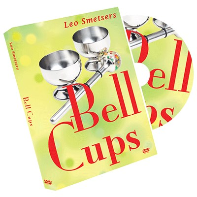 Cups and Bells DVD and Gimmicks by Leo Smetsers