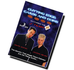 Cutting Edge Cards and Coins DVD-Set (DVD240)