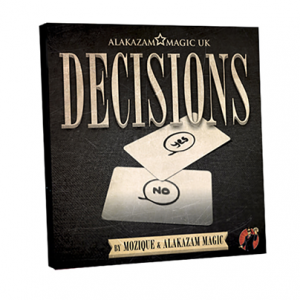 Decisions Blank Edition DVD and Gimmick by Mozique (DVD968-W9)