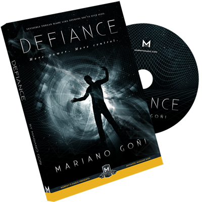 Defiance (DVD with Gimmick) by Mariano Goni (DVD793)
