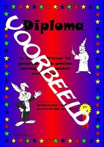 Goochel Diploma's (2752X12)