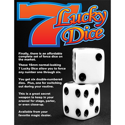 Forcing Dice by Diamond Jim Tyler (3594)