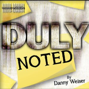 Duly Noted by Danny Weiser (4651)