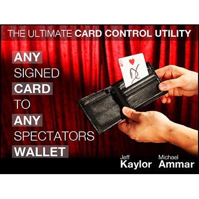 Any Card to Any Spectator's Wallet DVD and Gimmick (3217)