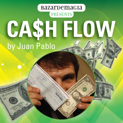 Cash Flow (DVD and Gimmick) by Juan Pablo (3756-w6)