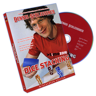 Dice Stacking by Dennis Schleussner DVD (DVD772)