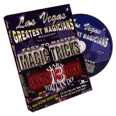 Las Vegas ETM Magic Tricks (DVD469)