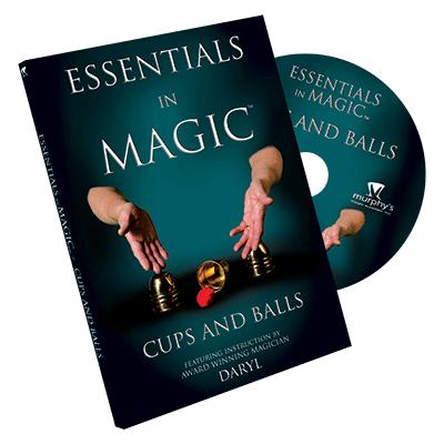 Essentials in Magic Cups & Balls DVD (DVD711)