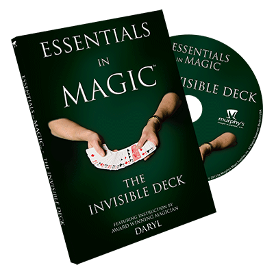 Essentials in Magic Invisible Deck DVD (DVD682)