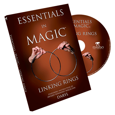 Essentials in Magic Linking Rings DVD (DVD695)
