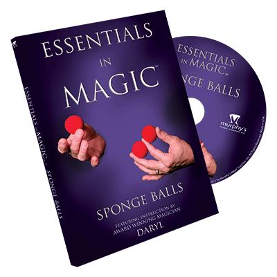Essentials in Magic Sponge Balls DVD (DVD697)