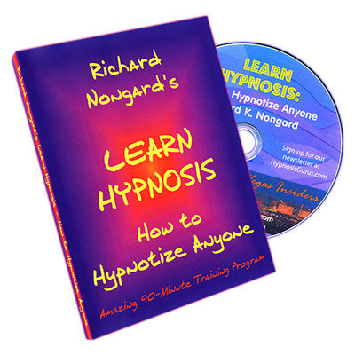 Learn Hypnosis by Richard Nongard DVD (DVD870)