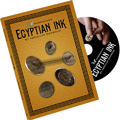 Egyptian Ink DVD and Gimmick by Sansminds Creative Lab (DVD925)