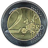Jumbo Munt 2-euro Deluxe 7,5 cm (1040)