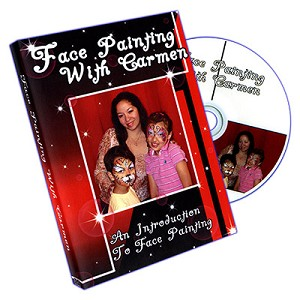 Face Painting With Carmen DVD (DVD463)