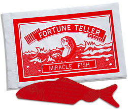 Fortune Telling Fish 10 stuks (2418)