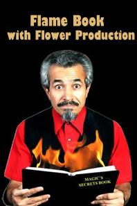 Fire & Flowers Book met Bloemen (1323H2)
