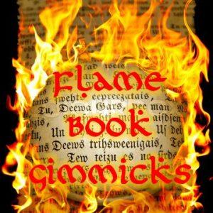 Flame Book Gimmicks Set (0530-w4)