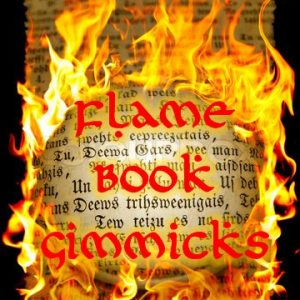 Flame Book Gimmicks Set (0530-w4)