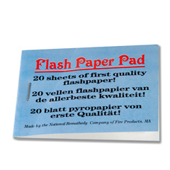Flash Paper Pad (1285)