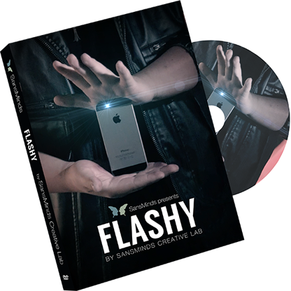 Flashy DVD and Gimmick by SansMinds (DVD910)