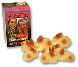 3D Rabbits Goshman (1596-w5)