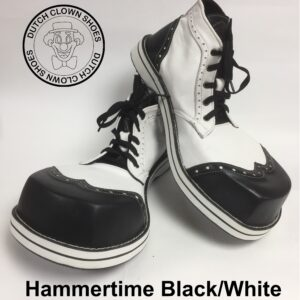 Clowns Schoenen Hammertime Black-White