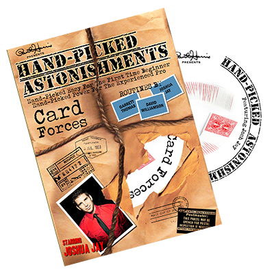 Handpicked Astonishments (Card Forces) by Joshua Jay DVD(DVD733)