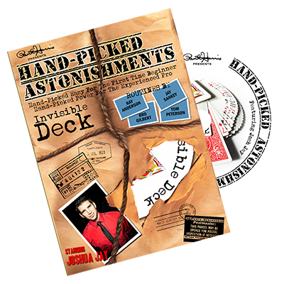 Handpicked Astonishments (Invisible Deck) by J. Jay DVD (DVD734)