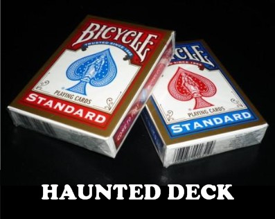 Haunted Deck Bicycle & Video (1242)