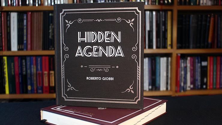 Hidden Agenda Hardbound by Roberto Giobbi (B0328)