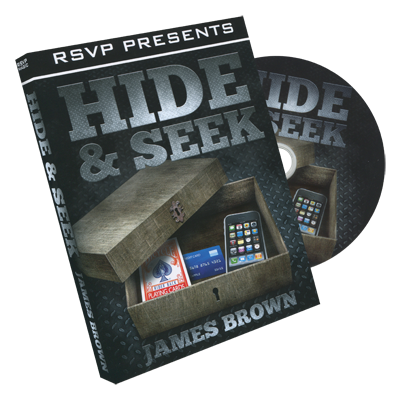 Hide & Seek by James Brown and RSVP Magic DVD (DVD730)