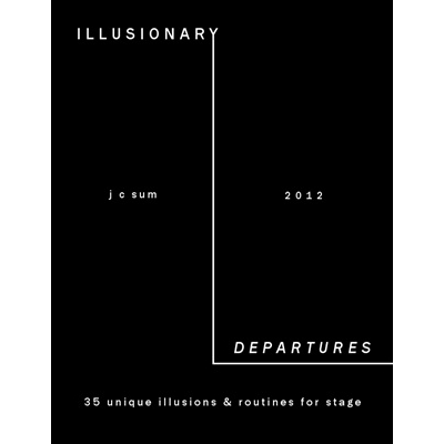 Illusionary Departures by JC Sum Boek (B0269)