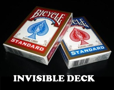Invisible Deck Bicycle & Video (0018)