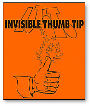Invisible Thumbtip (0771-w3)