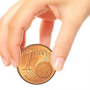 Jumbo 1 Eurocent Munt (4373)