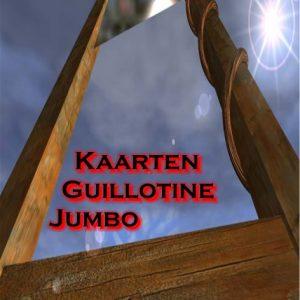 Kaarten Guillotine Jumbo (3104)
