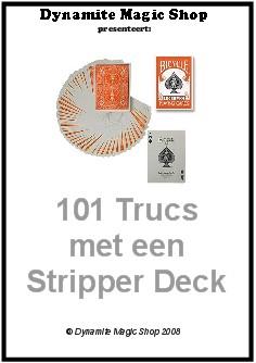101 Trucs met een Stripper Deck Boekje (B0118)