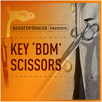 Key BDM Scissors by Bazar de Magia (3430)
