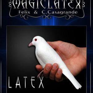 Latex Dove with legs (3837)