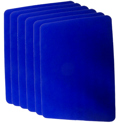 Close Up Mat Groot Blauw Goshman (3495-w10)
