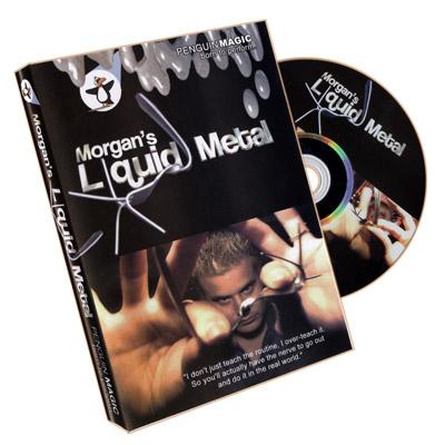 Liquid Metal by Morgan Strebler Dvd (DVD917)