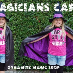 Magicians Cape Black/Purple