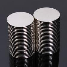Magneet neodymium Rond 10 x 0,5 mm (4576)