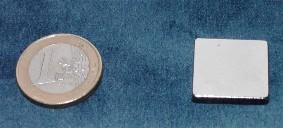 Magneet neodymium 20x 20 x 3 mm (1364)