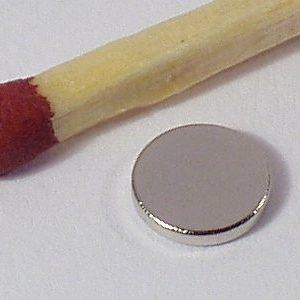 Magneet neodymium Rond 6 x 1 mm (1430)