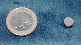 Magneet neodymium 8 x 3 mm (1362)